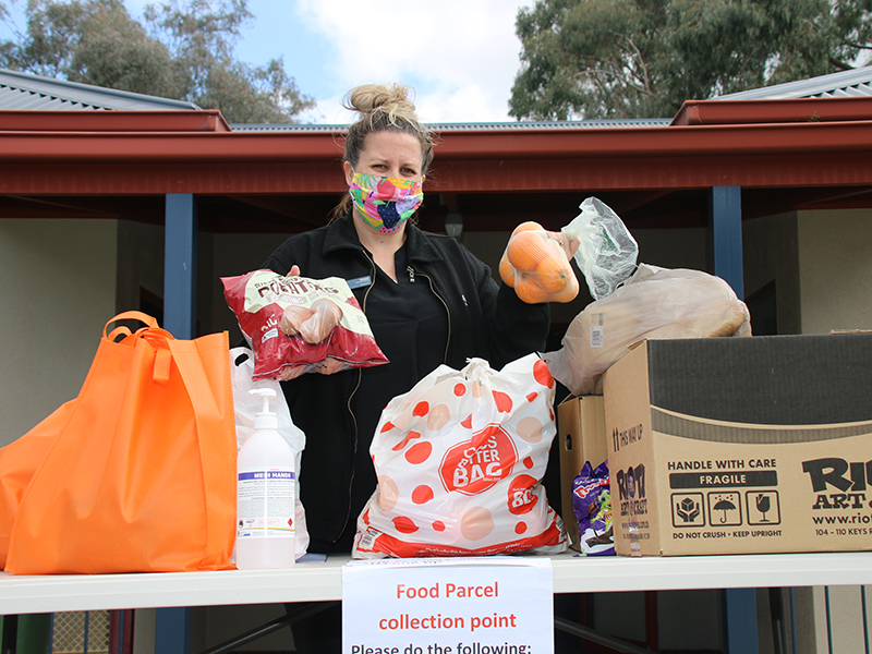 AlburyCity is stepping up its emergency food relief program, as Covid-19 takes a toll on those doing it tough.