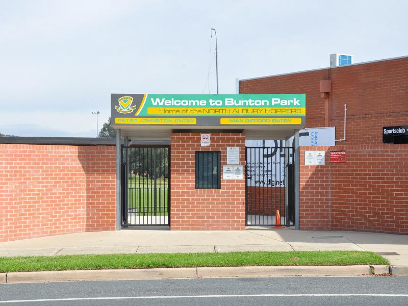 Bunton entrance