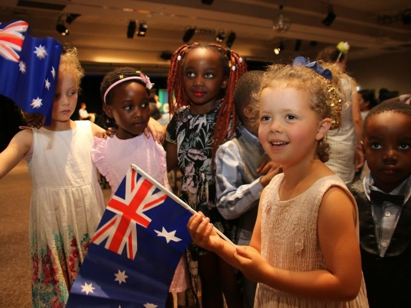 A day of pride for new Australian citizens