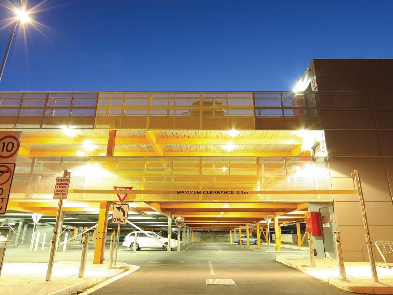 Image of the Wilson Street Car park
